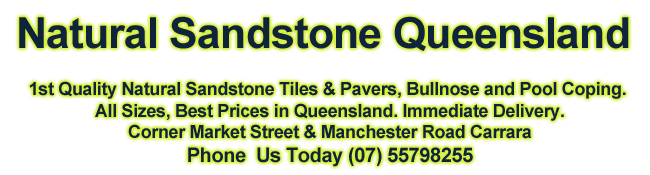 All Natural SandStone Gold Coast - Queensland